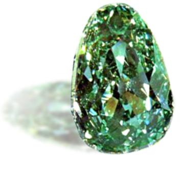 世界で最も有名と言われるグリーンダイヤモンド、ドレスデン・グリーン。約2世紀もの間、ドイツの都市ドレスデンに展示されていました。インドからイギリス、そして