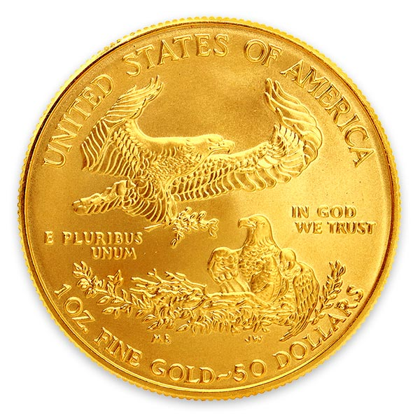 1oz イーグル金貨 50ドル K22(22金)