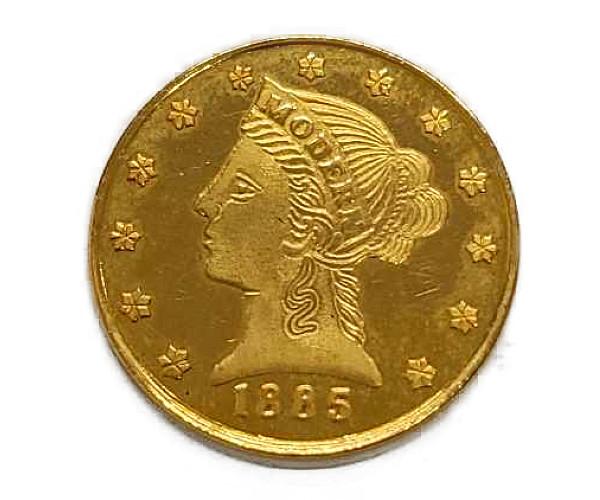 0.272oz プライズジュエリーモダンフラワー金貨 K22(22金)