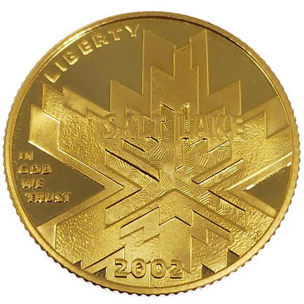 ソルトレイクシティ五輪記念金貨 5ドル K21.6(21.6金)