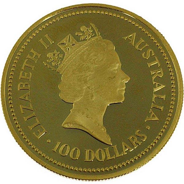1oz カンガルー金貨 100ドル K24(純金・24金)