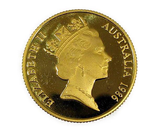 コアラ金貨 エリザベス2世 1986年金貨 200ドル K22(22金)