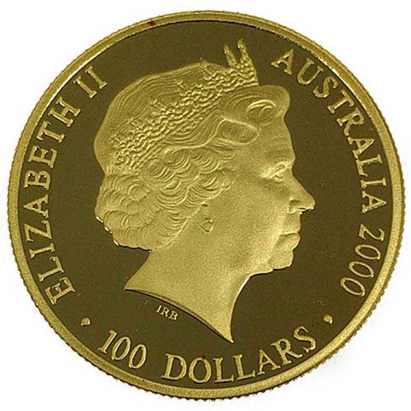 シドニー五輪・開催記念金貨 100ドル K24(純金・24金)