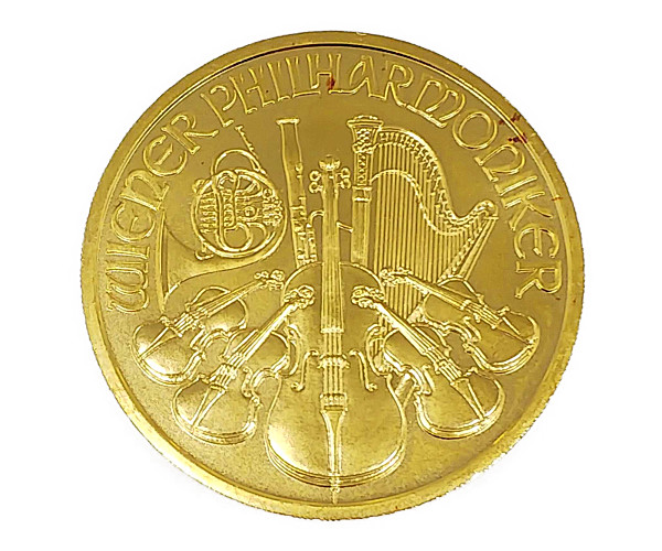 1oz ウィーン・ハーモニー金貨 100ユーロ(2000シリング) K24(純金・24金)
