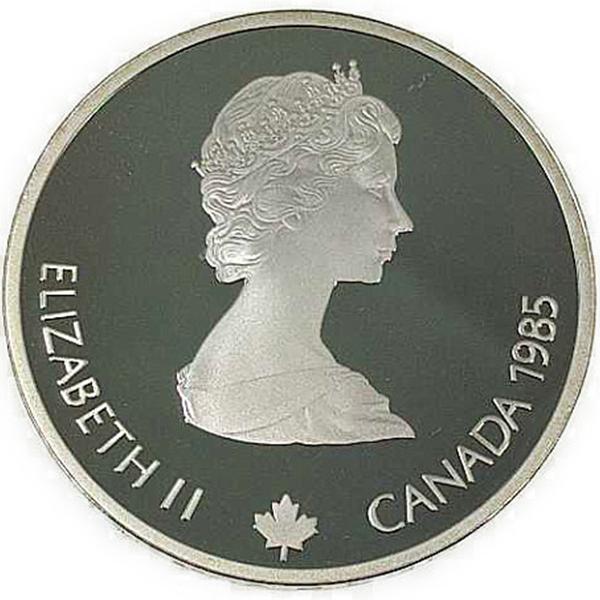 カルガリー 1988年 冬季オリンピック記念 スターリングシルバー 銀貨幣(スピードスケート)銀貨 20カナダドル Sv925(シルバー925)
