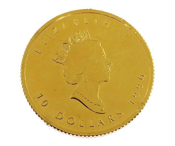 1/4oz メイプルリーフ金貨 10ドル K24(純金・24金)