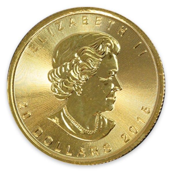 1/2oz メイプルリーフ金貨 20ドル K24(純金・24金)