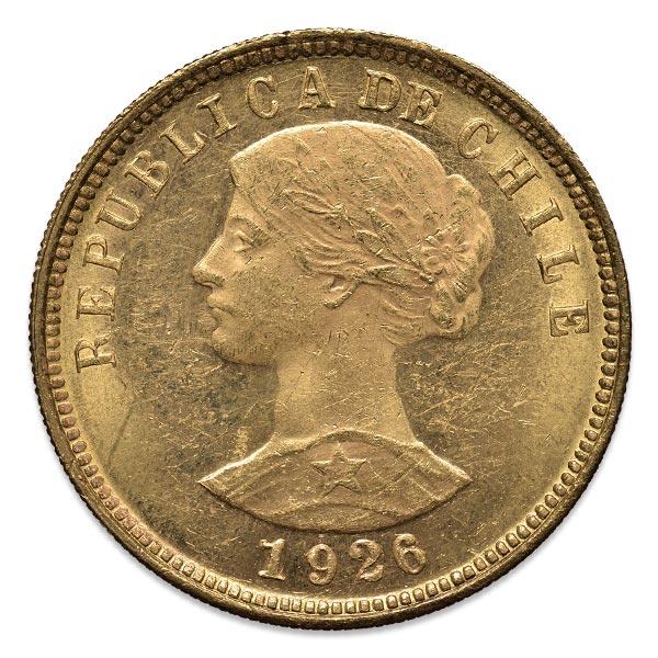 女神金貨 100ペソ K21.6(21.6金)