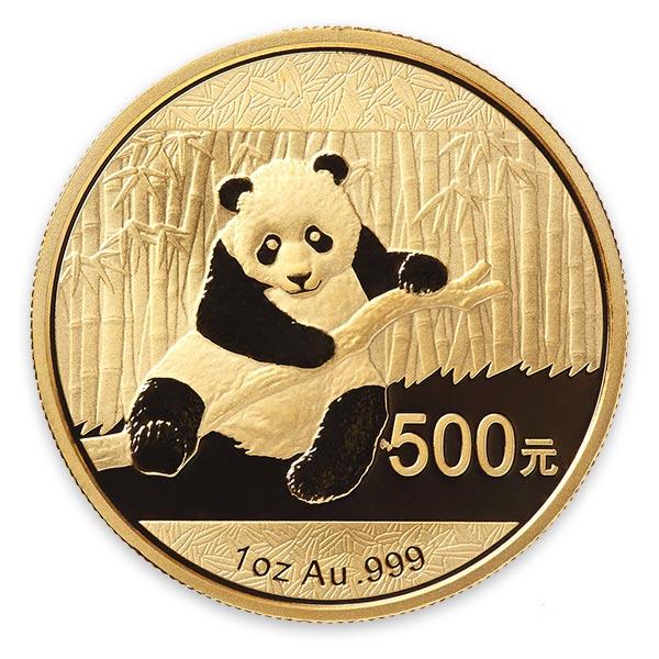 1oz パンダ金貨500元 K24(純金・24金)