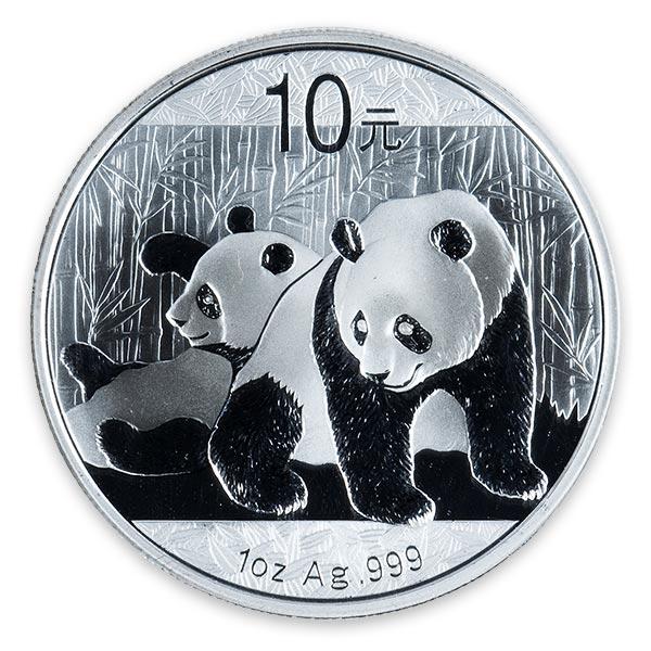 1/10oz Ptパンダプラチナ貨10元 Pt999(純プラチナ・プラチナ999)