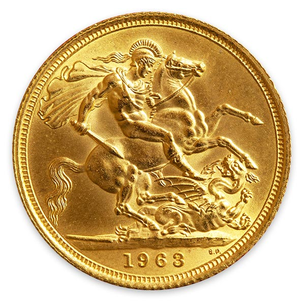 ソブリン金貨・エリザベス2世金貨 2ポンド K22(22金)