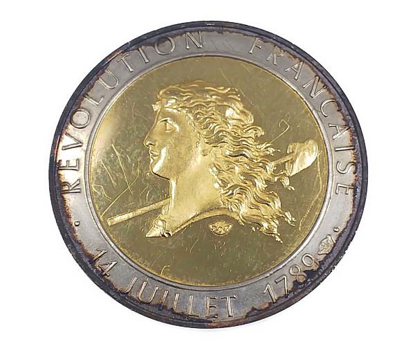 フランス革命200年金貨 K22(22金)