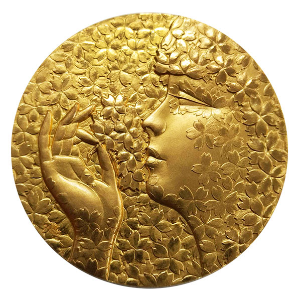 花博 国際花と緑の博覧会 記念 金メダル K24(純金・24金)