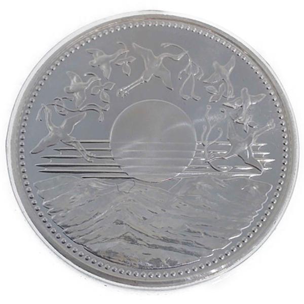 昭和天皇御在位60年記念銀貨 10,000円