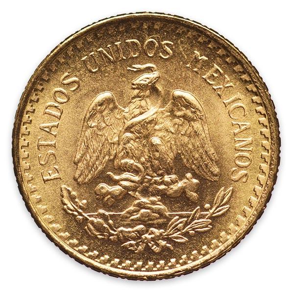 イダルゴ金貨 2.5ペソ K21.6(21.6金)