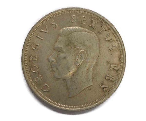 ケープタウン記念日銀貨 5シリング Silver