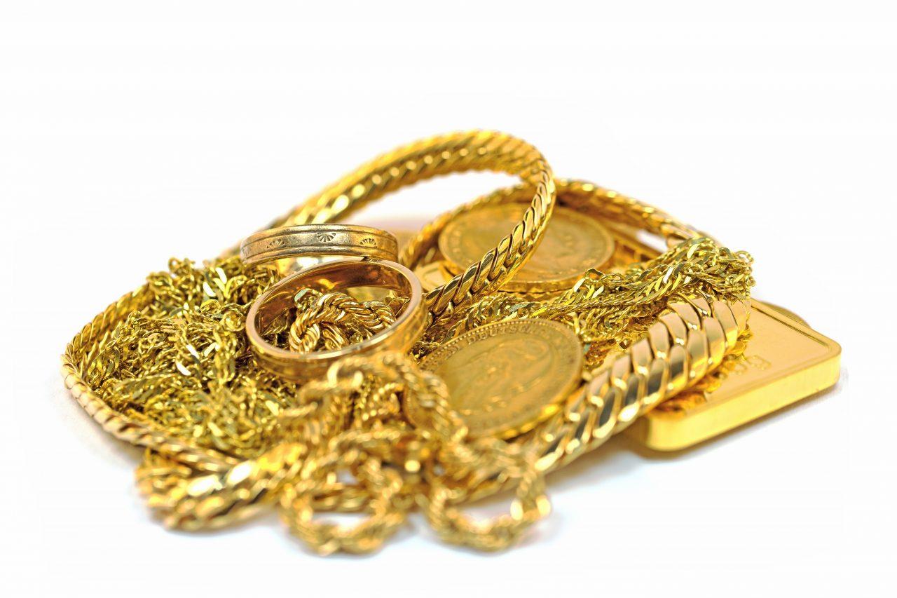 投資としての金やjewelry